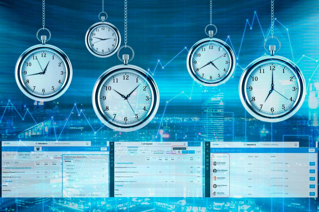 Gestion del tiempo y transparencia en el trabajo