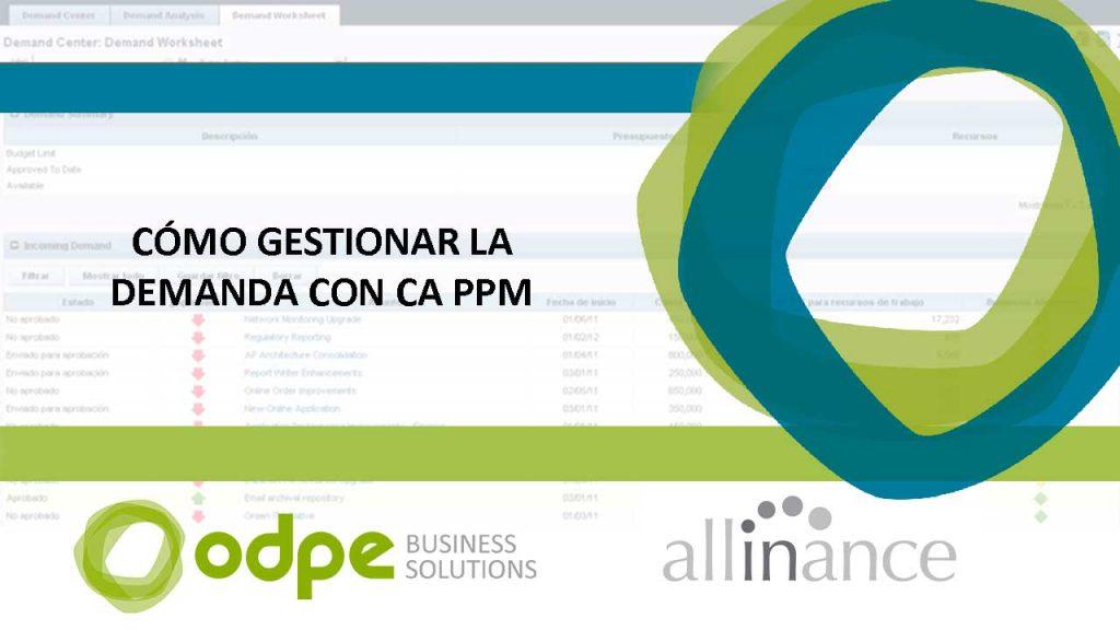 gestion de la demanda con ca ppm(clarity)