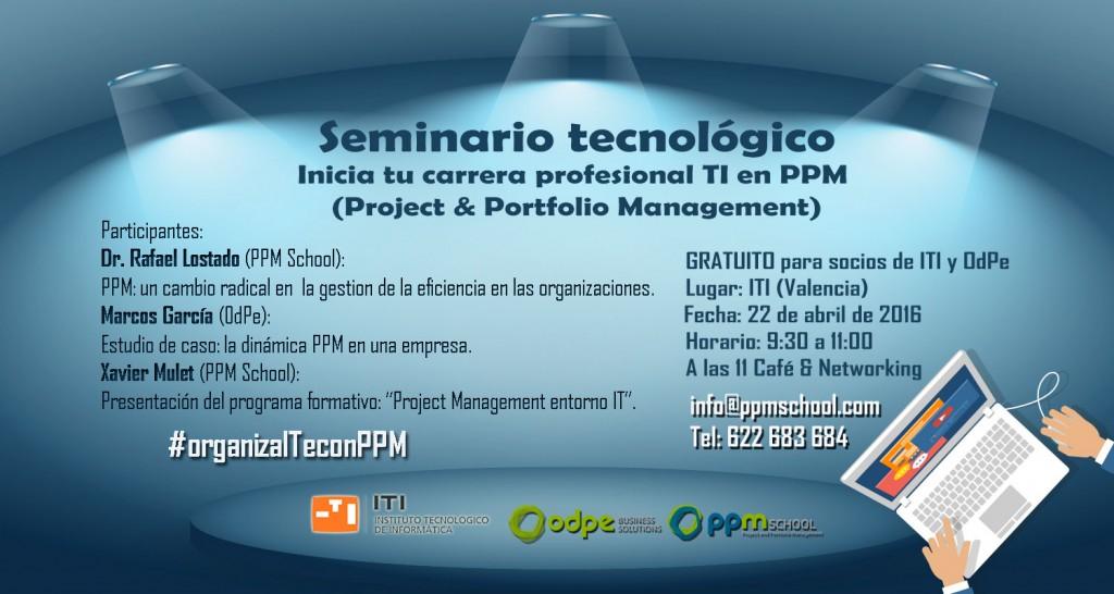 Seminario Formación PPM entorno IT
