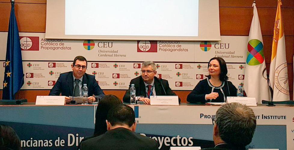 PMI Valencia, inauguración jornada