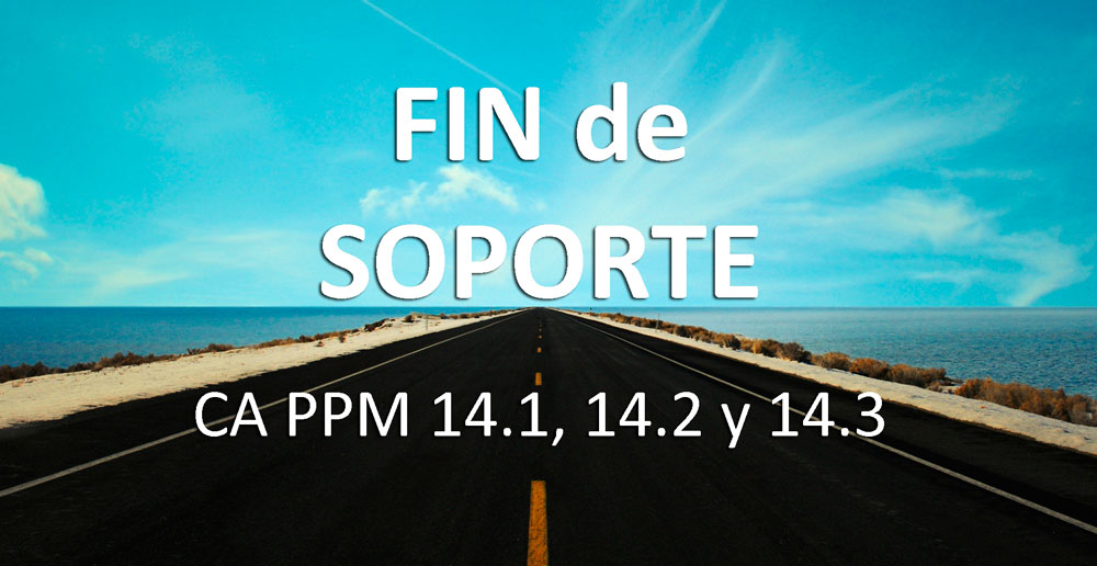 CA PPM Clarity fin de soporte
