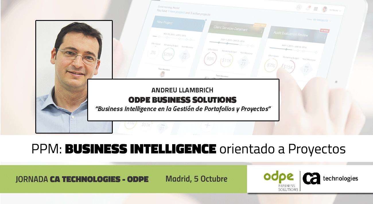 Business Intelligence y gestión de proyectos y portafolios