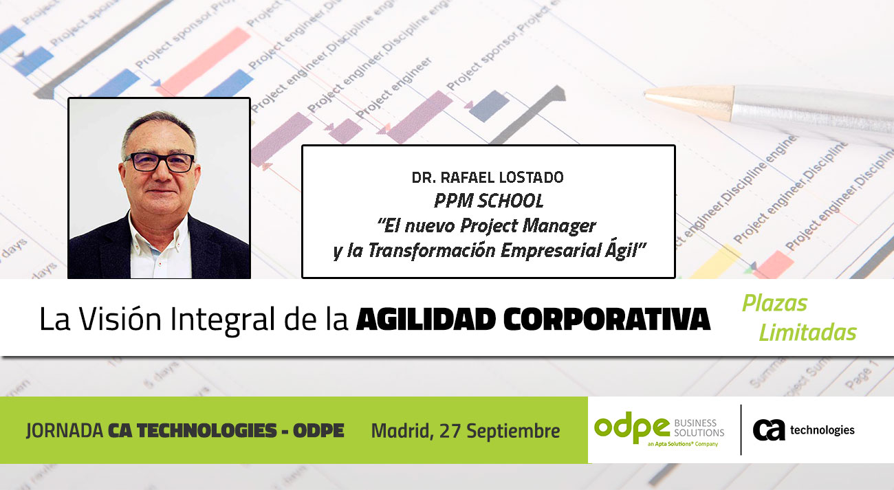 project manager y transformacion agil